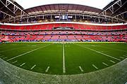 Wembley Stadium during the International Series match between Los Angeles Rams and Cincinnati Bengals at Wembley Stadium, London, England on 27 October 2019.