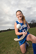 Otter Valley Field Hockey Player Allison Lowell, Athlete of the Year, Brandon, Vermont.