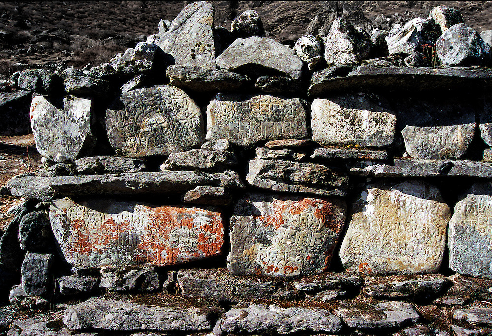 Back in 2000 when visiting Nepal I was hiking in the Langtang Region when i came across these stones carved in relief. I speak no nepalise so have no idea what it says, but I guess thats not important really.  This region was devasted by the Earthquake in 2015, and would be vastly different now. On my wish list to revisit