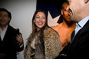 TAMARA MELLON . Kevin Lynch: Octagon - private view Hamiltons Gallery, 13 Carlos Place, London, W1, 17 January 2008. -DO NOT ARCHIVE-© Copyright Photograph by Dafydd Jones. 248 Clapham Rd. London SW9 0PZ. Tel 0207 820 0771. www.dafjones.com.