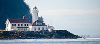 Point Wilson Lighthouse, Port Townsend, Admiralty Inlet, Puget Sound, Washington, USA