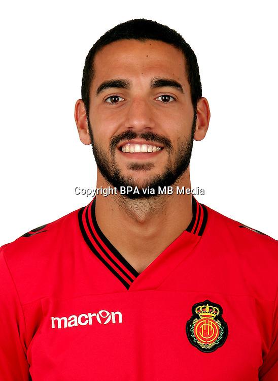 Spain - La Liga Adelante 2014-2015 / <br /> ( Rcd Mallorca ) - <br /> Alexander Vallejo Minguez &quot; Alex Vallejo &quot;