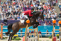 Demeersman Dirk (BEL) - Bufero vh Panishof<br /> Olympic Games London 2012<br /> © Dirk Caremans