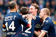 Onderwerp/Subject: Willem II - Eredivisie<br /> Reklame:  <br /> Club/Team/Country: <br /> Seizoen/Season: 2012/2013<br /> FOTO/PHOTO: Ricardo IPPEL (C) of Willem II celebrating his goal with Simon VAN ZEELST (R) of Willem II and Kees VAN BUUREN (RR) of Willem II and Philipp HAASTRUP (L) of Willem II ( 0 - 1 ). (Photo by PICS UNITED)<br /> <br /> Trefwoorden/Keywords: <br /> #02 #17 $94 ±1355241558607<br /> Photo- & Copyrights © PICS UNITED <br /> P.O. Box 7164 - 5605 BE  EINDHOVEN (THE NETHERLANDS) <br /> Phone +31 (0)40 296 28 00 <br /> Fax +31 (0) 40 248 47 43 <br /> http://www.pics-united.com <br /> e-mail : sales@pics-united.com (If you would like to raise any issues regarding any aspects of products / service of PICS UNITED) or <br /> e-mail : sales@pics-united.com   <br /> <br /> ATTENTIE: <br /> Publicatie ook bij aanbieding door derden is slechts toegestaan na verkregen toestemming van Pics United. <br /> VOLLEDIGE NAAMSVERMELDING IS VERPLICHT! (© PICS UNITED/Naam Fotograaf, zie veld 4 van de bestandsinfo 'credits') <br /> ATTENTION:  <br /> © Pics United. Reproduction/publication of this photo by any parties is only permitted after authorisation is sought and obtained from  PICS UNITED- THE NETHERLANDS