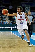 DESCRIZIONE : Kaunas Lithuania Lituania Eurobasket Men 2011 Quarter Final Round Spagna Slovenia Spain Slovenia<br /> GIOCATORE : Ricky Rubio<br /> CATEGORIA : palleggio<br /> SQUADRA : Spagna Slovenia Spain Slovenia<br /> EVENTO : Eurobasket Men 2011<br /> GARA : Spagna Slovenia Spain Slovenia<br /> DATA : 14/09/2011<br /> SPORT : Pallacanestro <br /> AUTORE : Agenzia Ciamillo-Castoria/M.Metlas<br /> Galleria : Eurobasket Men 2011<br /> Fotonotizia : Kaunas Lithuania Lituania Eurobasket Men 2011 Quarter Final Round Spagna Slovenia Spain Slovenia<br /> Predefinita :