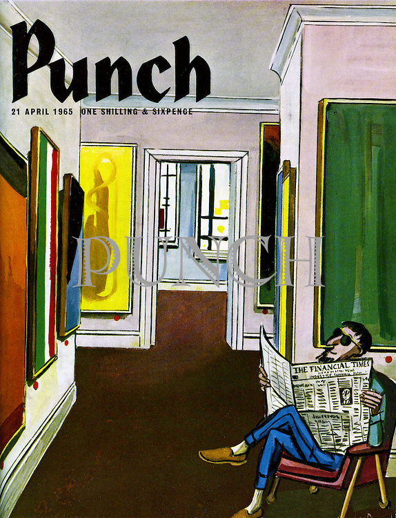Punch cover 21 April 1965