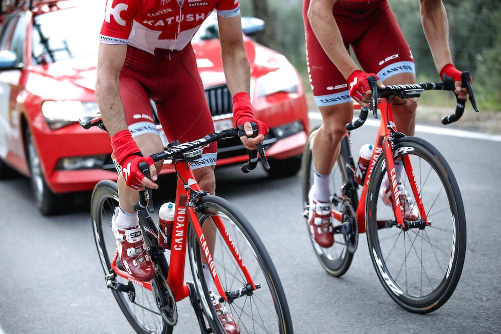 2016 Tirreno-Adriatico Stage 2: Camaoire - Pomarance 207 km Photo: Iri Greco / BrakeThrough Media