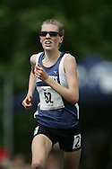 Hamilton, Ontario ---07/06/08--- Joanna Brown of All Saints in Kanata competes in the 3000 meters at the 2008 OFSAA Track and Field meet in Hamilton, Ontario..GEOFF ROBINS