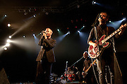 The National perform in support of High Violet on October 18, 2010 at the Fillmore Auditorium in Denver, Colorado