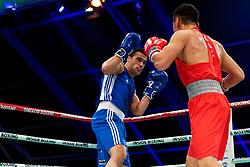 17-11-2019 NED: World Port Boxing Netherlands - Kazakhstan, Rotterdam<br /> 3rd World Port Boxing in Excelsior Stadion Rotterdam / Zekaria Elhaj (NED) against Tursynbay Kulakhmet (KAZ)