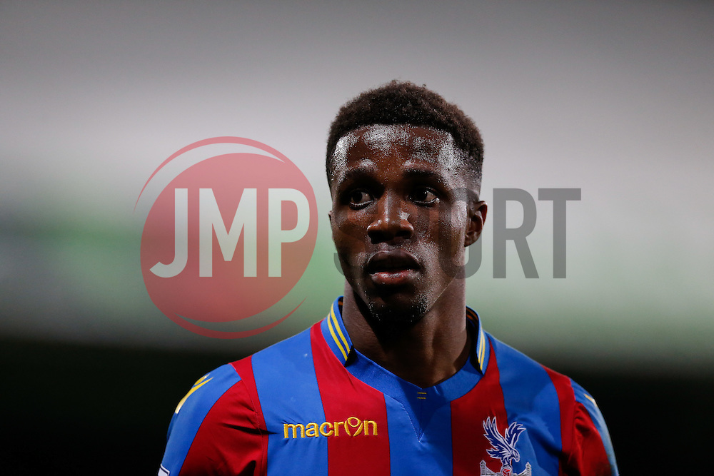 Wilfried Zaha of Crystal Palace - Photo mandatory by-line: Rogan Thomson/JMP - 07966 386802 - 06/04/2015 - SPORT - FOOTBALL - London, England - Selhurst Park - Crystal Palace v Manchester City - Barclays Premier League.