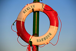 UK CORNWALL NEWLYN 9JUN08 - Life ring at Newlyn harbour in Cornwall, western England...jre/Photo by Jiri Rezac / WWF UK..© Jiri Rezac 2008..Contact: +44 (0) 7050 110 417.Mobile:  +44 (0) 7801 337 683.Office:  +44 (0) 20 8968 9635..Email:   jiri@jirirezac.com.Web:    www.jirirezac.com..© All images Jiri Rezac 2008 - All rights reserved.