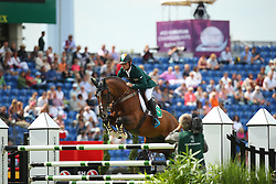 Lynch Denis, (IRL), All Star<br /> Team Competition round 1 and Individual Competition round 1<br /> FEI European Championships - Aachen 2015<br /> © Hippo Foto - Stefan Lafrentz<br /> 19/08/15