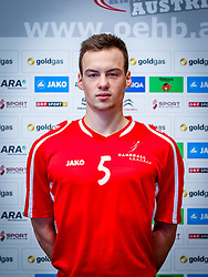 07.11.2015, Halle Hollgasse, Wien, AUT, Team 96 Invitational, Fototermin Österreich, im Bild Henry Stummer (AUT)// during the Team and Portrait Photoshoot of the Austrian Team 96 at the Halle Hollgasse, Vienna, Austria on 2015/11/07, EXPA Pictures © 2015, PhotoCredit: EXPA/ Sebastian Pucher