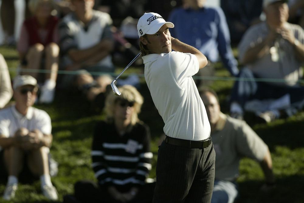 James McLean..2003 Phoenix Open.TPC at Scottsdale, Scottsdale, AZ..January  25, 2003..Photograph by Darren Carroll..X67646