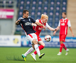 Falkirk's Tom Taiwo. Falkirk  2 v 2 Rotherham Utd, pre-seaon friendly.<br /> &copy; Michael Schofield.