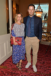 JAMIE & LOUISE REDKNAPP at the Audi Ballet Evening at The Royal Opera House, Covent Garden, London on 23rd April 2015.