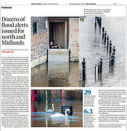The Guardian - 18th March 2019 - (swans)