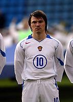 Fotball, 28. april 2004, Privatlandskamp, Norge-Russland 3-2, Dmitri Loskov, Russland, portrett