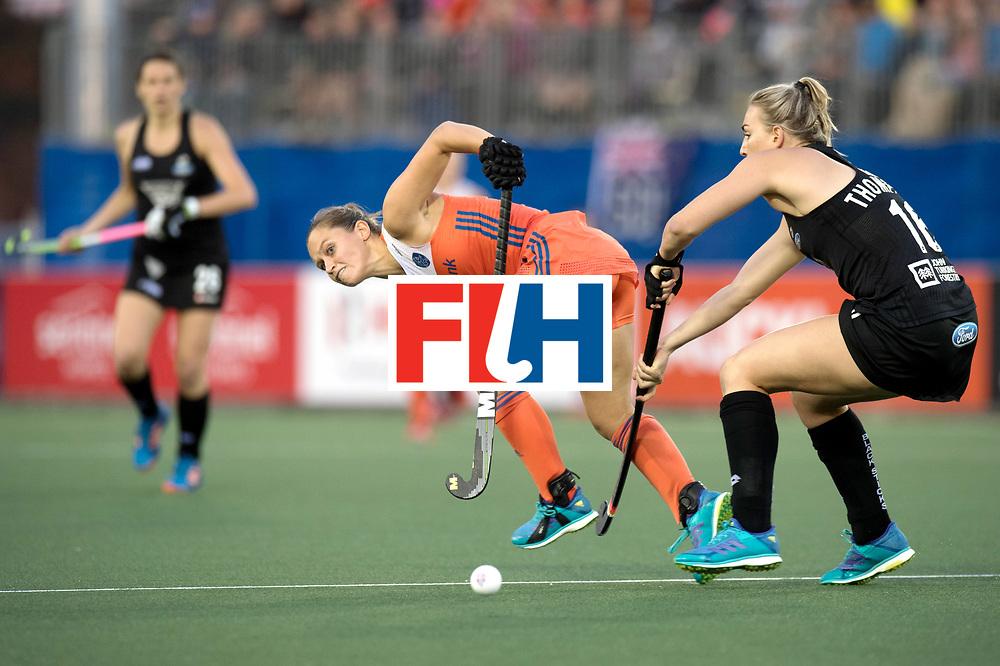 AUCKLAND - Sentinel Hockey World League final women<br /> Match id 10292<br /> 02 NED v NZL (Pool A)<br /> Foto:  Kelly Jonker.<br /> WORLDSPORTPICS COPYRIGHT FRANK UIJLENBROEK