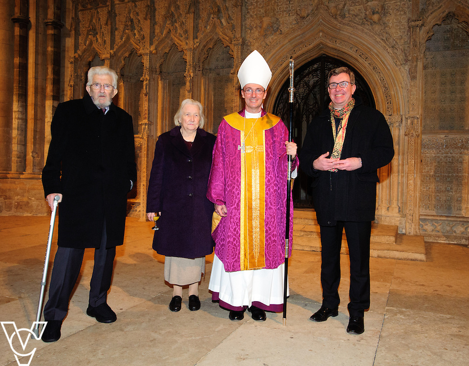 Reception after the sung eucharist at Lincoln Cathedral to inaugurate the episcopal ministry of The Right Reverend Dr Nicholas Chamberlain as Bishop Suffragan of Grantham.<br /> <br /> Picture: Chris Vaughan/Chris Vaughan Photography<br /> Date: December 13, 2015