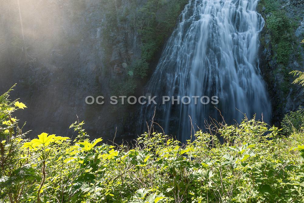 Narada Falls at Mt. Rainier National Park