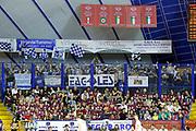 DESCRIZIONE : Venezia Lega A 2014-15 Play Off Gara2 Quarti di Finale Umana Reyer Venezia Acqua Vitasnella Cantu<br /> GIOCATORE : Tifosi Acqua Vitasnella Cantu<br /> CATEGORIA : Tifosi<br /> SQUADRA : Umana Reyer Venezia Acqua Vitasnella Cantu<br /> EVENTO : Campionato Lega A 2014-2015<br /> GARA : Umana Reyer Venezia Acqua Vitasnella Cantu<br /> DATA : 21/05/2015<br /> SPORT : Pallacanestro <br /> AUTORE : Agenzia Ciamillo-Castoria/G. Contessa<br /> Galleria : Lega Basket A 2014-2015 <br /> Fotonotizia : Venezia Lega A 2014-15 Play Off Gara2 Quarti di Finale Umana Reyer Venezia Acqua Vitasnella Cantu