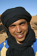 portrait of a moroccan man