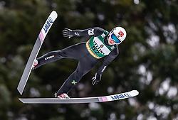 01.02.2019, Heini Klopfer Skiflugschanze, Oberstdorf, GER, FIS Weltcup Skiflug, Oberstdorf, Qualifikation, im Bild Johann Andre Forfang (NOR) // Johann Andre Forfang of Norway during his Qualification Jump of FIS Ski Jumping World Cup at the Heini Klopfer Skiflugschanze in Oberstdorf, Germany on 2019/02/01. EXPA Pictures © 2019, PhotoCredit: EXPA/ JFK