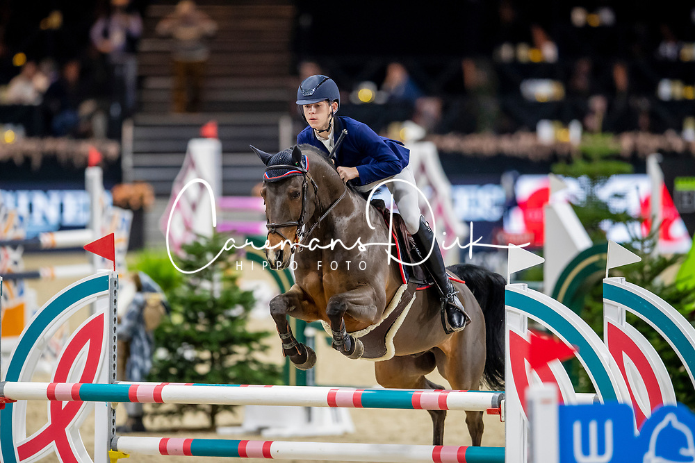 De Plecker Vic, BEL, Boris<br /> Jumping Mechelen 2019<br /> © Hippo Foto - Dirk Caremans<br />  27/12/2019