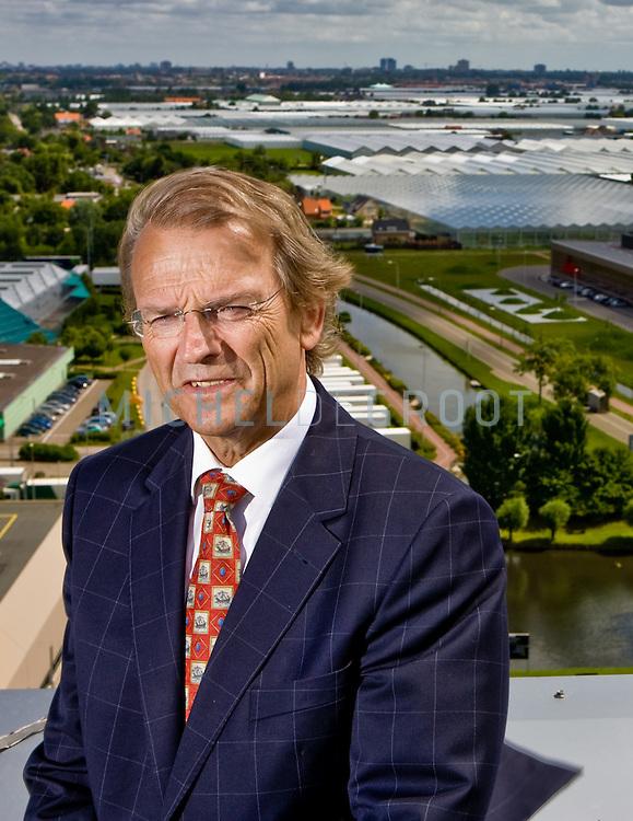 Gert van Dijk, scheidend voorzitter van NCR op June 13, 2008 in Honselaarsdijk, The Netherlands.  {photo by Michel de Groot)