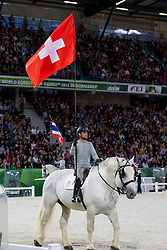 Opening Ceremony, Team SUI <br /> Alltech FEI World Equestrian Games™ 2014 - Normandy, France.<br /> © Hippo Foto Team - Leanjo de Koster<br /> 25/06/14