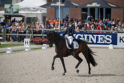 Blackert Laura, GER, Deluxe 23<br /> Longines FEI/WBFSH World Breeding Dressage Championships for Young Horses - Ermelo 2017<br /> © Hippo Foto - Dirk Caremans<br /> 05/08/2017
