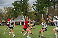 St Paul's School varsity lacrosse with New Hampton.  ©2109 Karen Bobotas Photographer