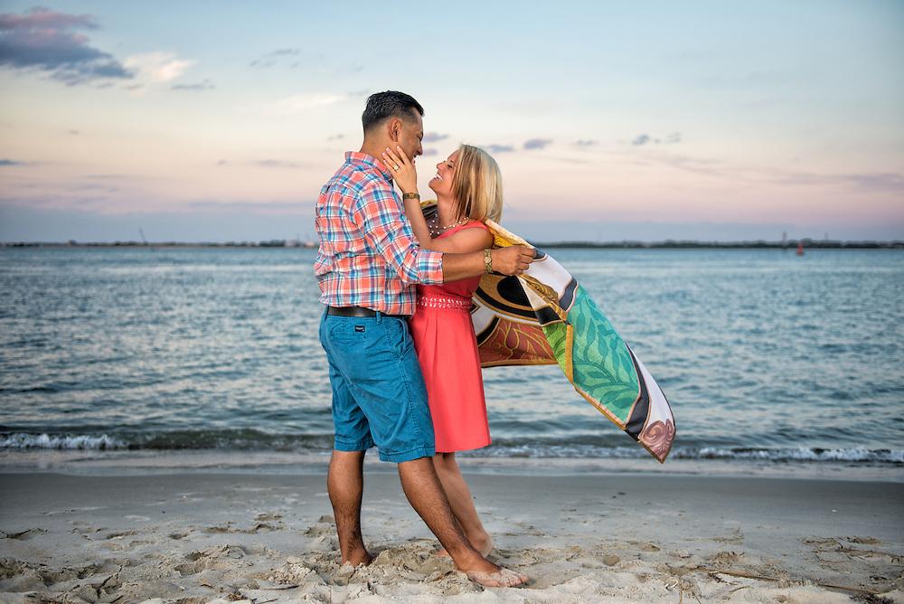 Daniel and Catherine Engagement | Atlantic Beach NC Photographers