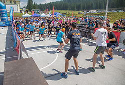 during OVIRATLON: Obstacle Challenge 2019, on 6.7.2019 on Pokljuka, Slovenia. Photo by Urban Meglic / Sportida