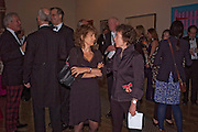 DR. SUSIE ORBACH;  JEANETTE WINTERSON, Royal Academy of Arts Annual dinner. Royal Academy. Piccadilly. London. 1 June <br /> <br />  , -DO NOT ARCHIVE-© Copyright Photograph by Dafydd Jones. 248 Clapham Rd. London SW9 0PZ. Tel 0207 820 0771. www.dafjones.com.