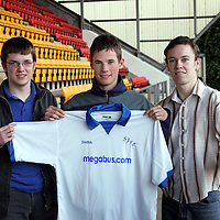 St Johnstone player sponsors evening..25.04.06<br />Kevin Moon<br /><br />Picture by Graeme Hart.<br />Copyright Perthshire Picture Agency<br />Tel: 01738 623350  Mobile: 07990 594431