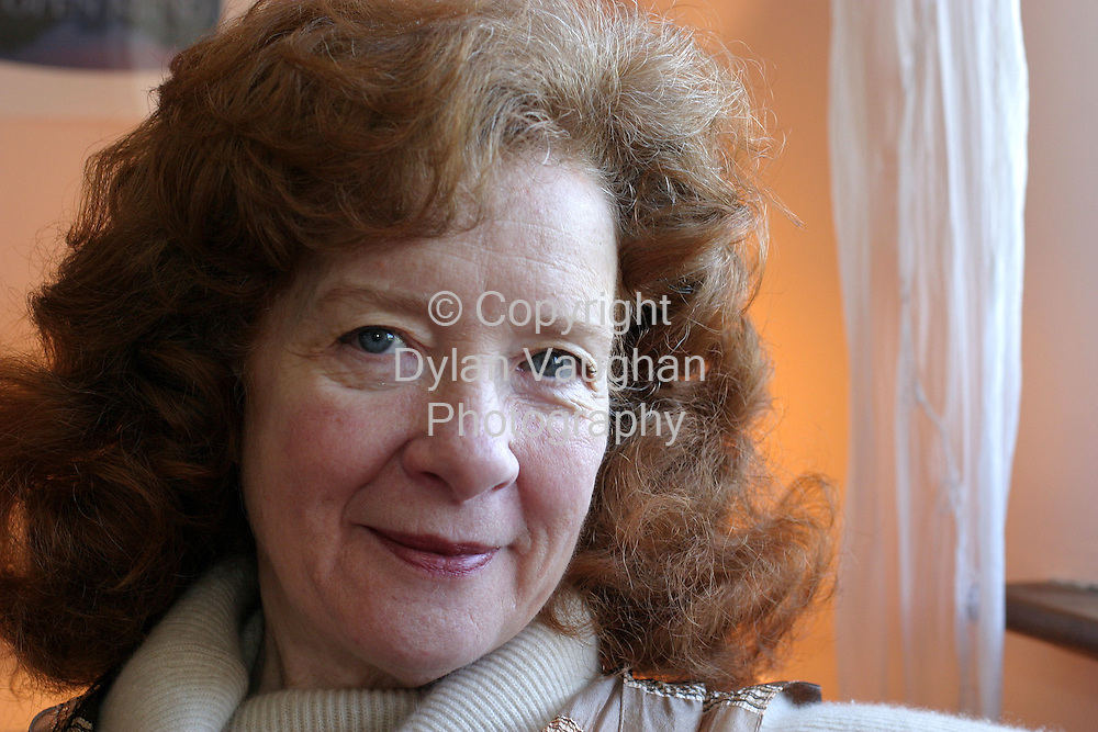 25/2/2004.Janet E Sahafi pictured at her home in Thomastown County Kilkenny..Picture Dylan Vaughan.