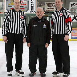 COCHRANE, ON - MAY 3: on May 3, 2019 at Tim Horton Events Centre in Cochrane, Ontario, Canada.<br /> (Photo by Tim Bates / OJHL Images)