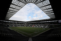 General view of Milton Keynes Dons Stadium MK Milton.