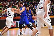 Daniel Hackett<br /> Nazionale Italiana Maschile Senior<br /> Eurobasket 2017 - Group Phase<br /> Lituania Italia Lithuania Italy<br /> FIP 2017<br /> Tel Aviv, 03/09/2017<br /> Foto M.Ceretti / Ciamillo - Castoria