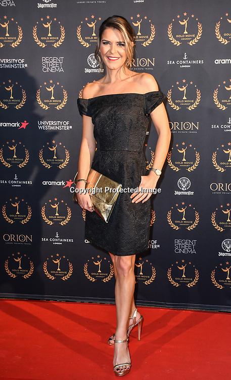 Gemma Oaten arrivers at Gold Movie Awards at Regents Street Theatre, on 9th January 2020, London, UK.