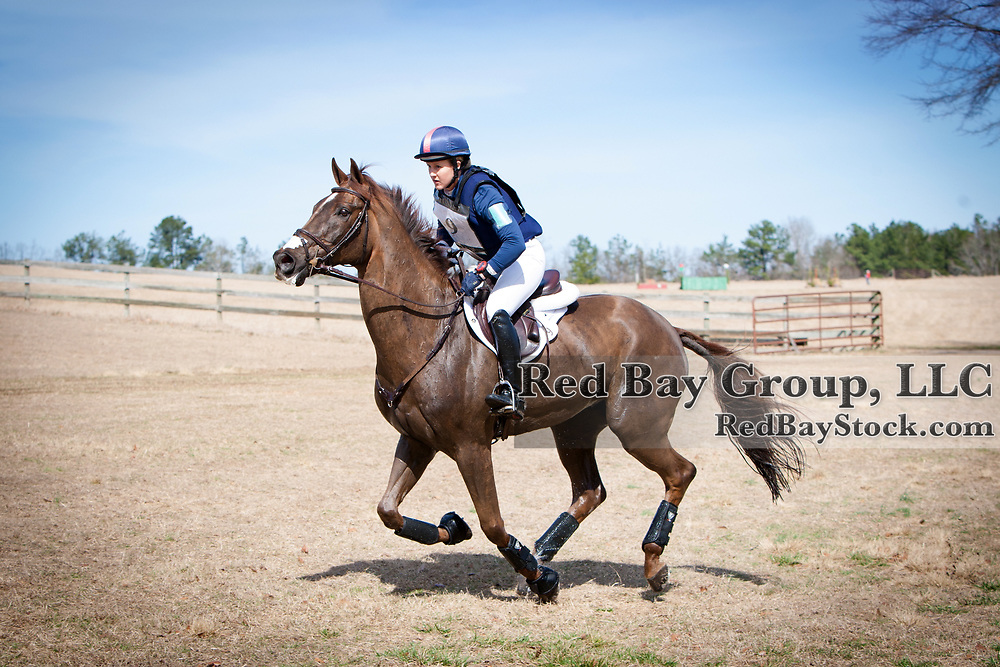 Allison Springer and Arthur at the 2014 Pine Top Farm Advanced Horse Trials in Thomson, Georgia.