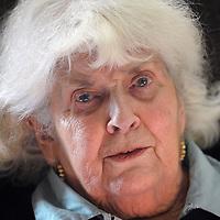 Albanpix<br /> Norfolk, UK<br /> http://www.albanpix.co.uk<br /> <br /> Elizabeth Jane Howard (1923-2014), English novelist, at her home in Bungay, Suffolk, UK.