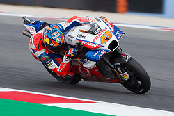 September 7, 2018 - Rimini, RN, Italy - Jack Miller of Octo Pramac Racing during the free practice 2 of the OCTO Grand Prix of San Marino e della Riviera di Rimini, at Misano World Circuit Marco Simoncelli, on September 07, 2018 in Misano Adriatico, Italy  (Credit Image: © Danilo Di Giovanni/NurPhoto/ZUMA Press)