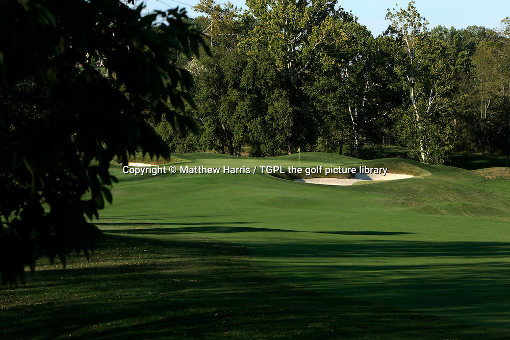 Valhalla during autumn 2007. Venue for the 2008 Ryder Cup Matches between USA and Europe to be staged in September.<br /> Shown here 1st - par 4.