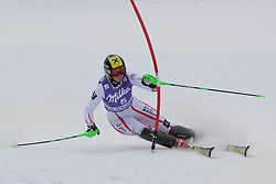 19.12.2010, Val D Isere, FRA, FIS World Cup Ski Alpin, Ladies, Super Combined, im Bild Nicole Hosp (AUT) whilst competing in the Slalom section of the women's Super Combined race at the FIS Alpine skiing World Cup Val D'Isere France. EXPA Pictures © 2010, PhotoCredit: EXPA/ M. Gunn / SPORTIDA PHOTO AGENCY