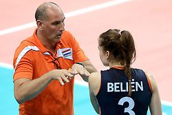 01-10-2014 ITA: World Championship Volleyball Servie - Nederland, Verona<br /> Nederland verliest met 3-0 van Servie en is kansloos voor plaatsing final 6 / Ass. Coach Ron Zwerver