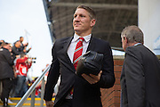 Bastian Schweinsteiger of Manchester United before the Barclays Premier League match between Crystal Palace and Manchester United at Selhurst Park, London, England on 31 October 2015. Photo by Phil Duncan.